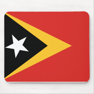 East Timor National World Flag Mouse Pad