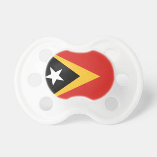 East Timor National World Flag Pacifier