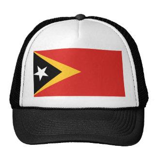 East Timor National World Flag Trucker Hat