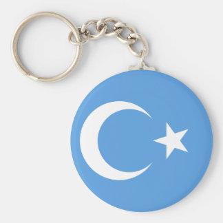East Turkestan Uyghur Flag Keychain
