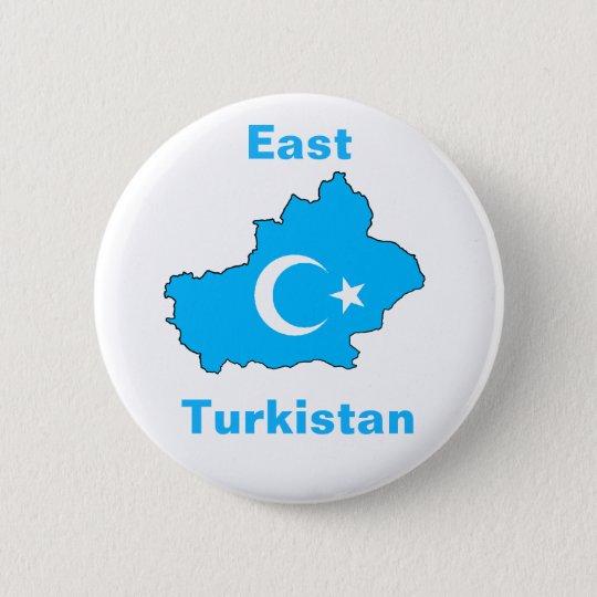 East Turkistan 2 Inch Round Button