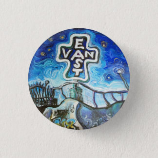 East Van 1 Inch Round Button