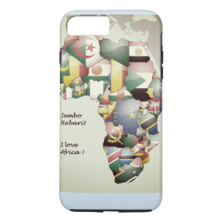 East West North South Central I Love Africa Case-Mate iPhone Case