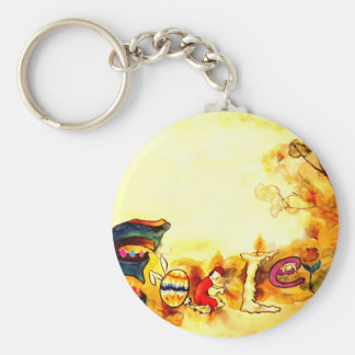 Easter #10 keychain