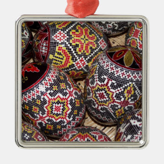 Easter #3 metal ornament