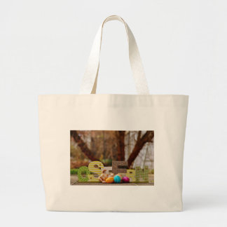 Easter- #4 large tote bag