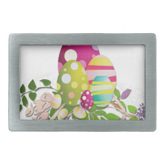 Easter #9 rectangular belt buckle