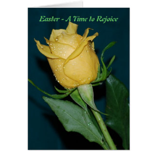 Easter a time to rejoice card
