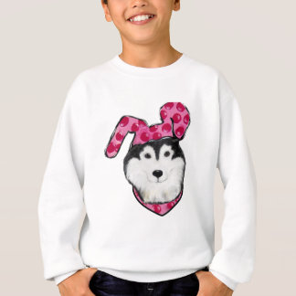 Easter Alaskan Malamute Sweatshirt