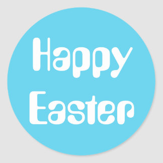 Easter Amelia Sky Blue Sticker by Janz