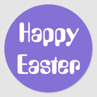 Easter Amelia Slate Blue Sticker by Janz