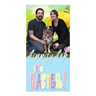 Easter - Australian Shepherd - Silas Barker Personalized Photo Card