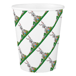 Easter Background Paper Cup