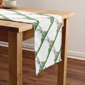 Easter Background Short Table Runner