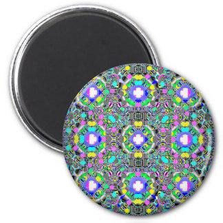 Easter Basket 2 Inch Round Magnet