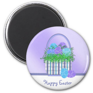 Easter Basket Collection 2 Inch Round Magnet