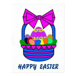Easter Basket (Holiday) Postcard