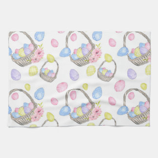 Easter Basket Kitchen Towel