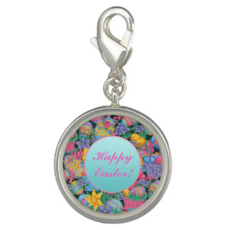 Easter Baskets and Eggs Charm