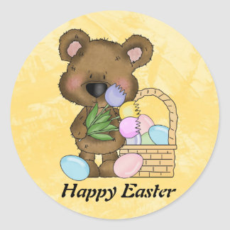 Easter Bear Sticker