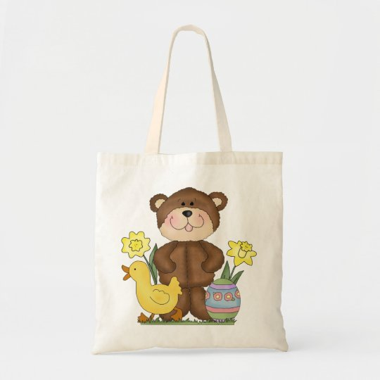 Easter Bear tote bag