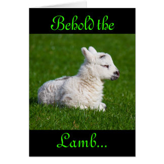 Easter Behold the Lamb III Cards