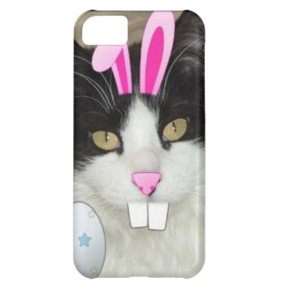 Easter Black and White Kitty Cat iPhone 5C Case