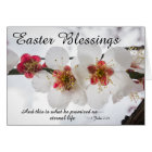 Easter Blessings 1 John 2:25 Bible Verse Card