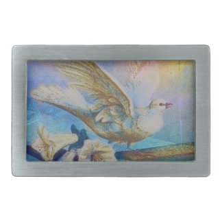 EASTER BLESSINGS AT THE WINDOWSILL BELT BUCKLE