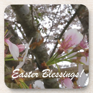 Easter Blessings Drink Coasters
