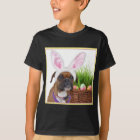 Easter boxer dog shirt