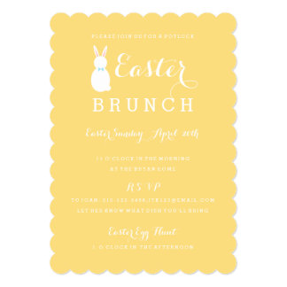 Easter Brunch Bunny | Easter Party Invitation