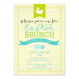 Easter Brunch & Easter Egg Hunt Invitation