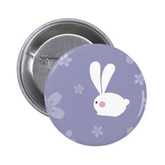 Easter Bunnies 2 Inch Round Button