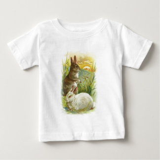 Easter Bunnies at Sunrise Baby T-Shirt