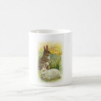 Easter Bunnies at Sunrise Coffee Mug