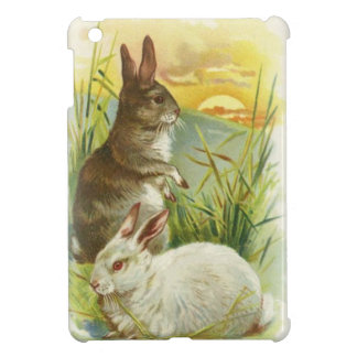 Easter Bunnies at Sunrise iPad Mini Case