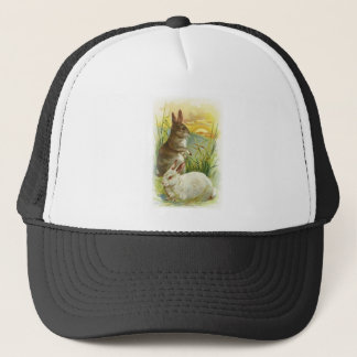 Easter Bunnies at Sunrise Trucker Hat