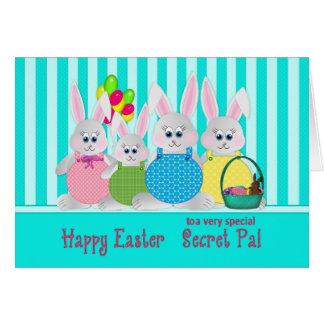 Easter Bunnies - Secret Pal - Fun Card