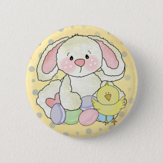 Easter Bunny 2 Inch Round Button