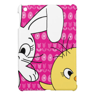 Easter bunny and chick case for the iPad mini