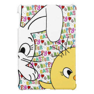 Easter bunny and chick cover for the iPad mini