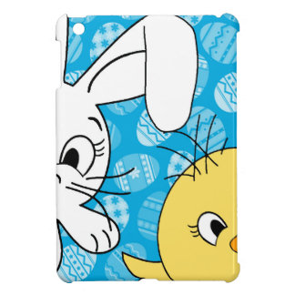 Easter bunny and chick iPad mini case