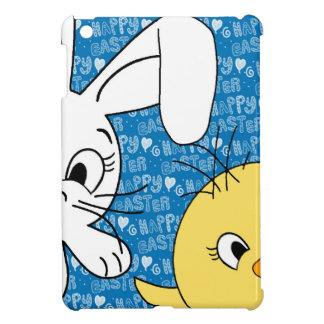 Easter bunny and chick iPad mini cases