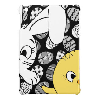 Easter bunny and chick iPad mini cover