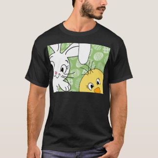 Easter bunny and chick T-Shirt