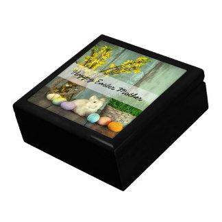 Easter Bunny and Egg Scene Gift Box