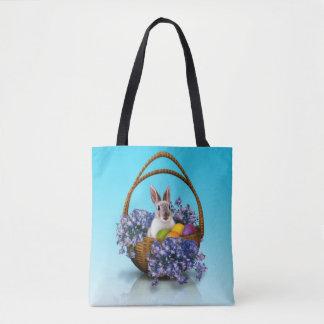 Easter Bunny Basket  All-Over-Print Tote Bag