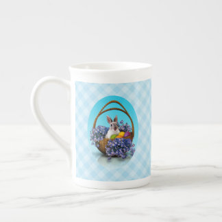 Easter Bunny Basket Tea Cup