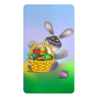 Easter Bunny Business Card Templates